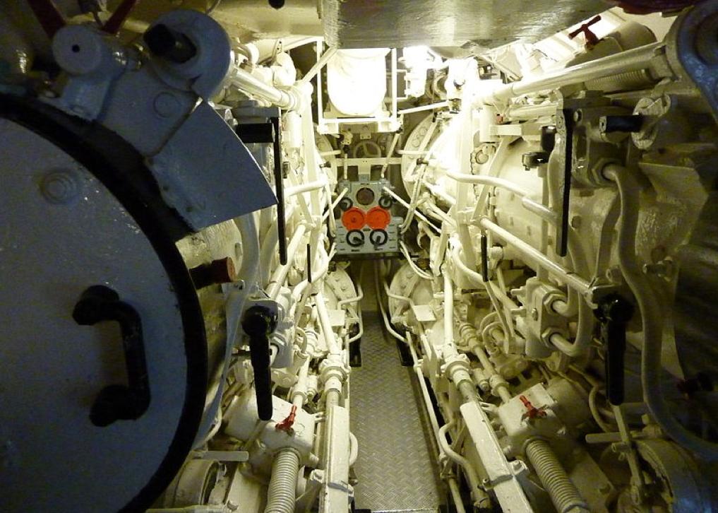 Торпедный отсек подводной лодки «U-995»