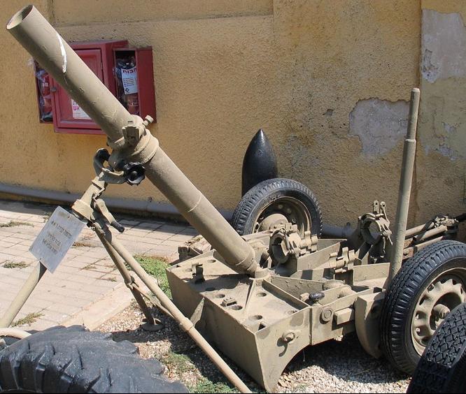 Миномет  ML 4.2-inch mortar