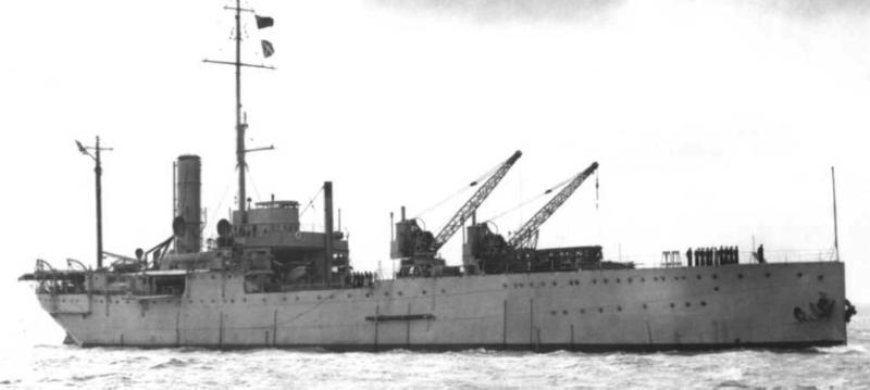 Гидроавиатранспорт «Pegasus» (Ark Royal)