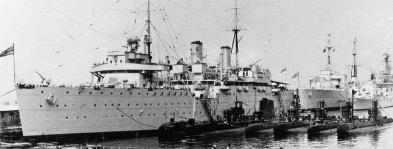 Плавбаза подводных лодок «Maidstone» (А-185)