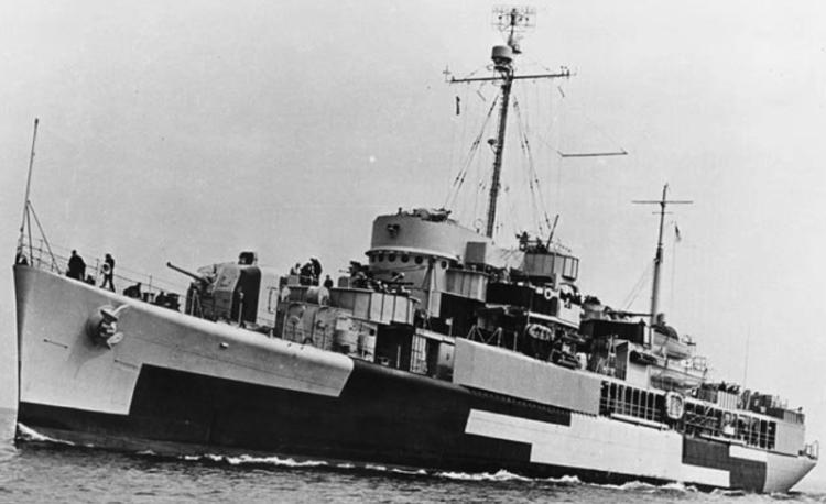 Плавбаза торпедных катеров «Wachapreague» (AGP-8)