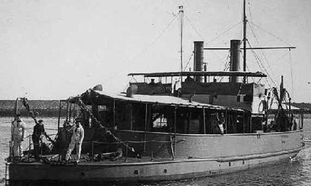 Канонерская лодка «Freyr»