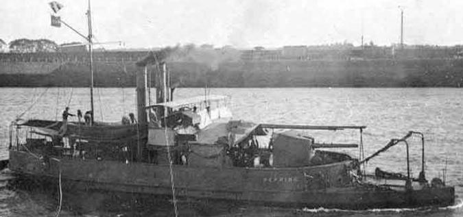 Канонерская лодка «Hefring»