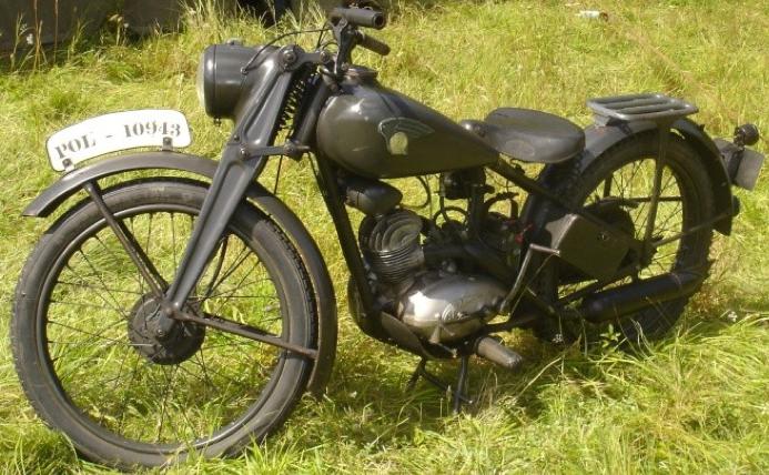 Мотоцикл Ardie VF-125