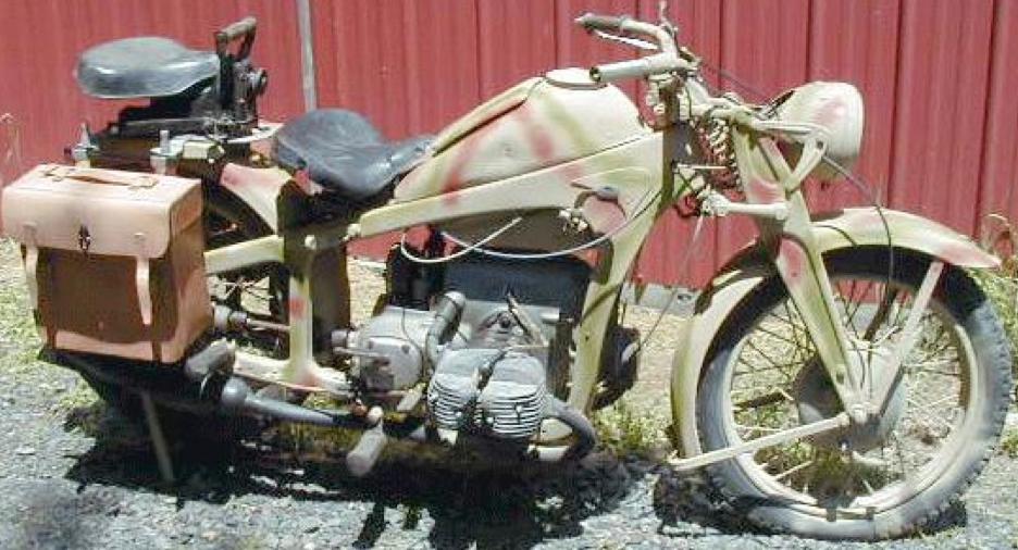 Мотоцикл Zündapp KS-600W