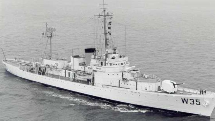 Корабль береговой охраны WPG-35 «Ingham»