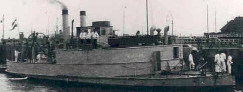 Канонерская лодка «Bulgia»