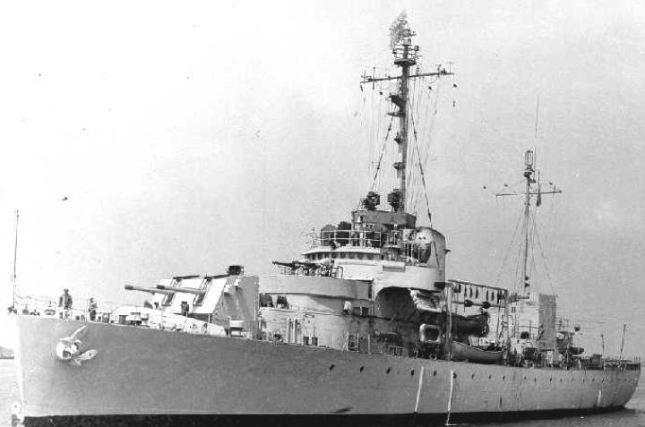 Корабль береговой охраны WPG-39 «Owasco»