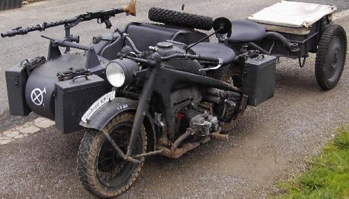 Мотоцикл Zündapp KS-750