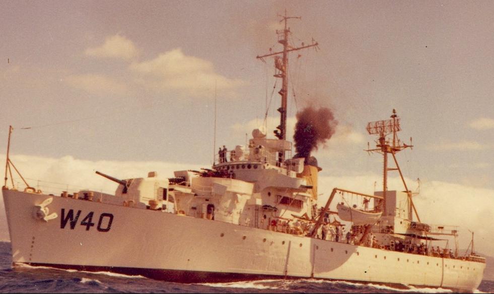 Корабль береговой охраны WPG-40 «Winnebago»