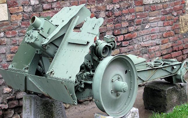 Пехотная полевая пушка 75-cm IG-18