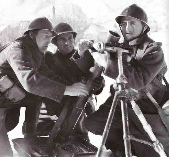 Миномет  81-mm Mle1927/1931 (Brandt)