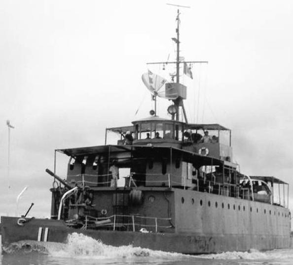 Канонеркая лодка «Amazonas»