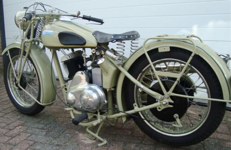 Мотоцикл Ardie RBU-505