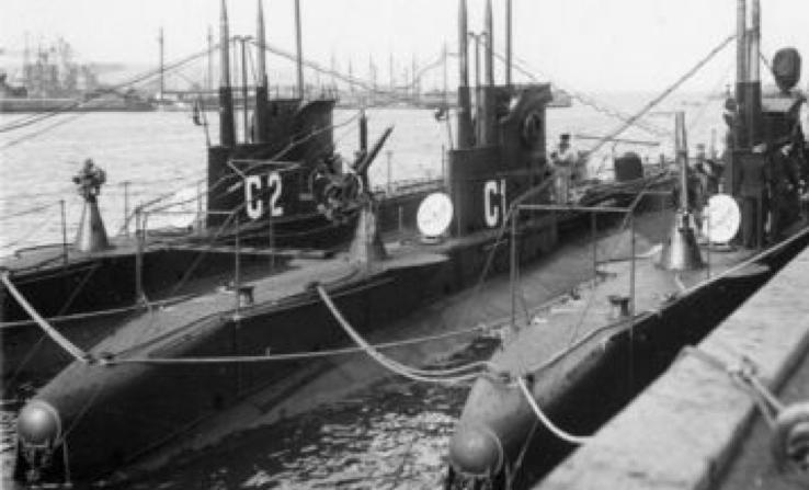 Подводные лодки «Bellona», «Rota» и «Flora»