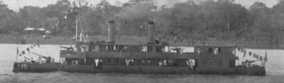 Канонеркая лодка «America»