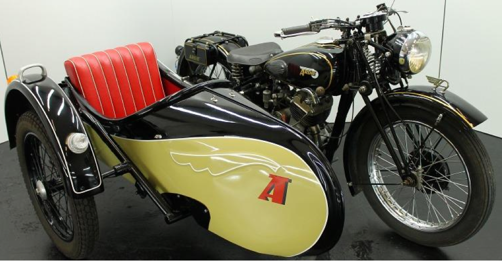 Мотоцикл Ardie RBU-505 с коляской