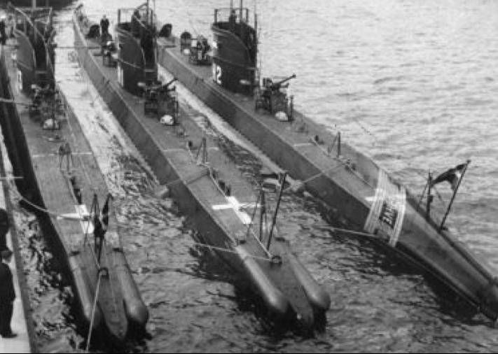 Подводные лодки «Havkalen», «Havmanden» и «Havfuen»