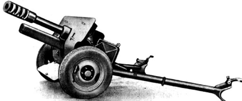 Рисунок 75-мм пушки IG-42