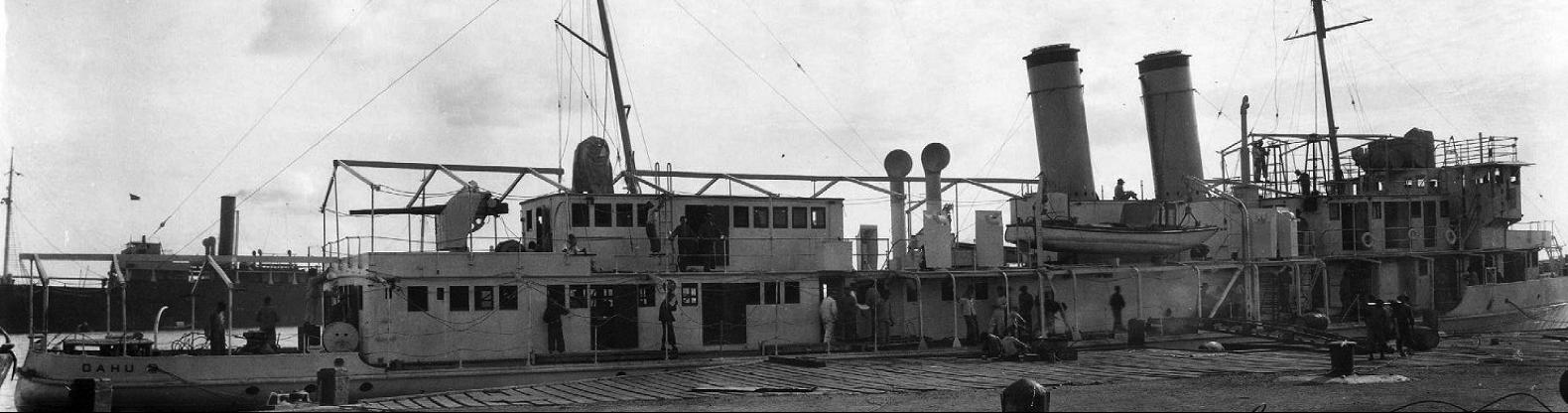 Канонерская лодка «Oahu» (PG-46/PR-6)