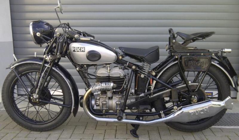 Мотоцикл Puch 500-V