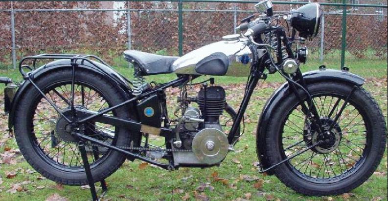 Мотоцикл FN M-70 Sahara