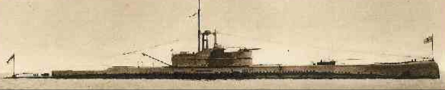 Подводная лодка «Oberon» (О-1)
