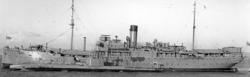 Плавбаза подводных лодок «Lucia» (F-27)