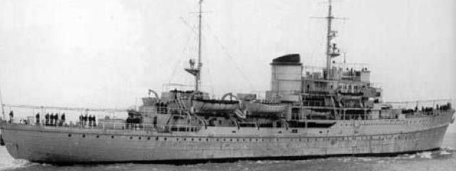 Плавбаза торпедных катеров «Hermann von Wissmann»