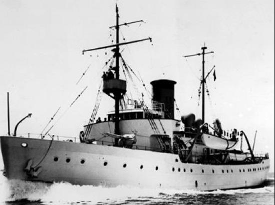 Корабль береговой охраны WPG-75 «Algonquin»