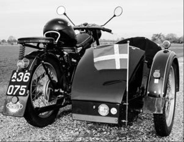 Мотоцикл Nimbus Туре С с коляской