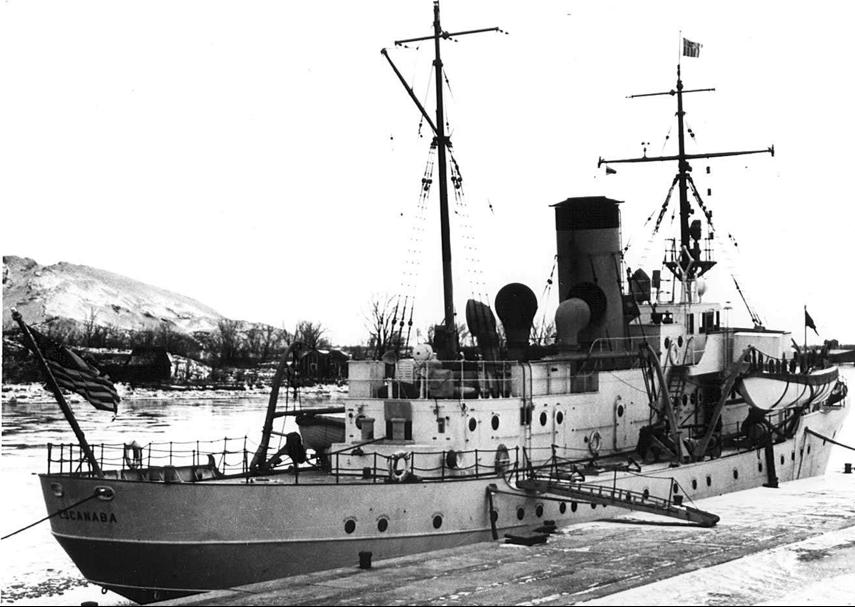 Корабль береговой охраны WPG-77 «Escanaba»