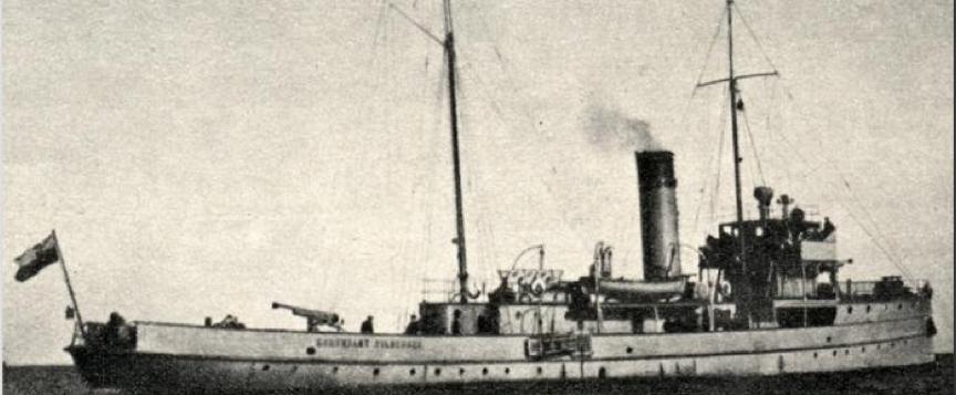 Канонерская лодка «Komendant Pilsudski» (Водорез)