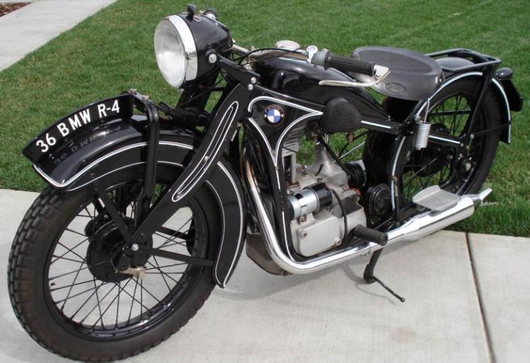 Мотоцикл BMW R-4