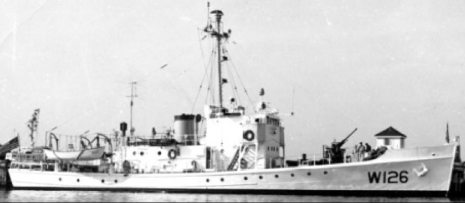 Корабль береговой охраны WPC-126 «Agassiz»