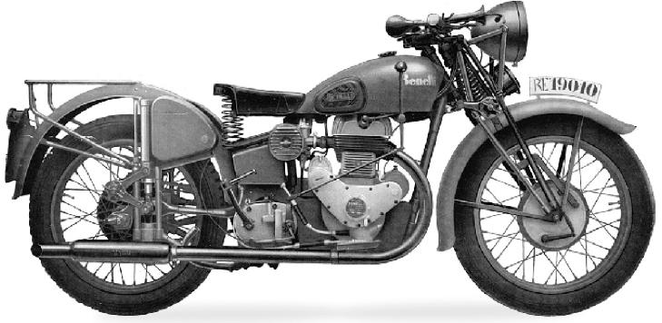 Мотоцикл Benelli 500-M40 VLM