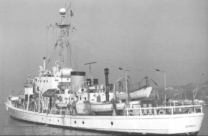 Корабль береговой охраны WPC-131 «Cahoone»