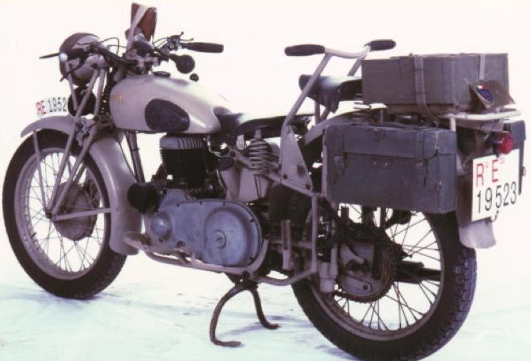 Мотоцикл Benelli 500-VLMB