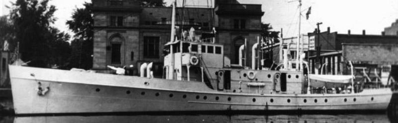 Корабль береговой охраны WPC-132 «Cartigan»