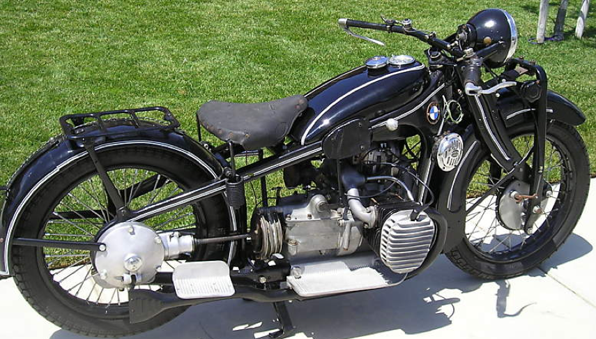 Мотоцикл BMW R-11