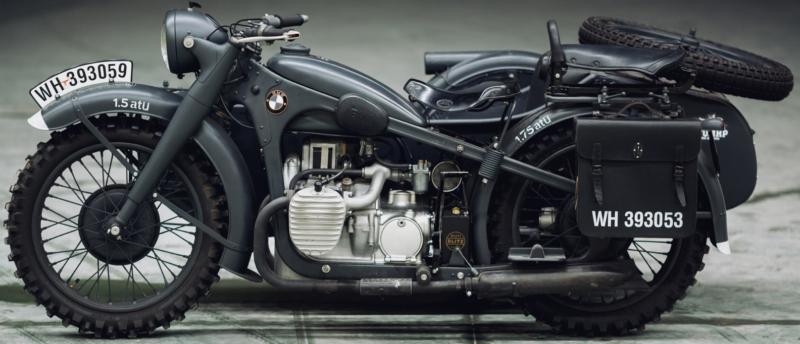 мотоцикл BMW R-12 с коляской