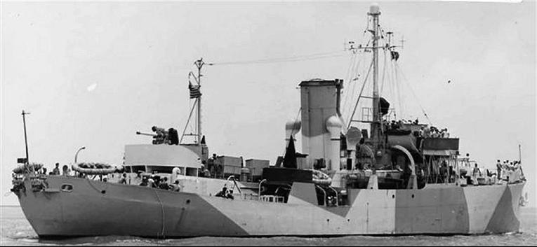 Канонерская лодка «Spry» (PG-64)
