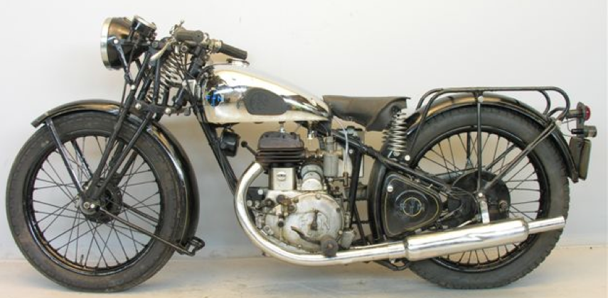 Мотоцикл FN M-71