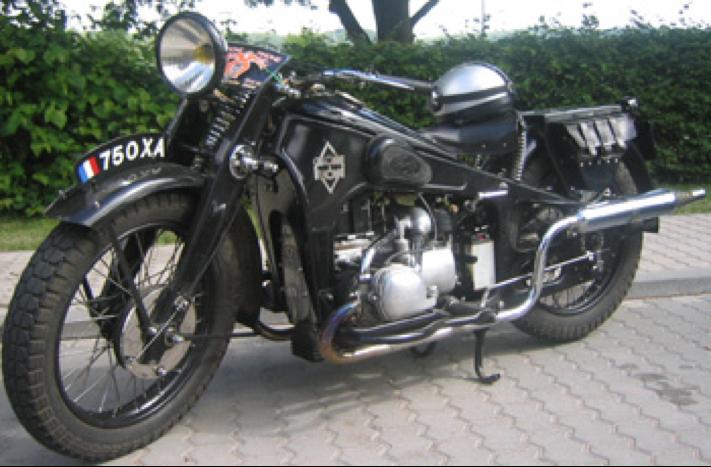 Мотоцикл Gnome Rhone 750-XA