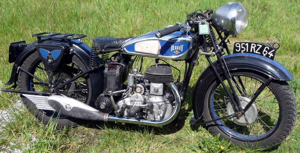 Мотоцикл Terrot RD