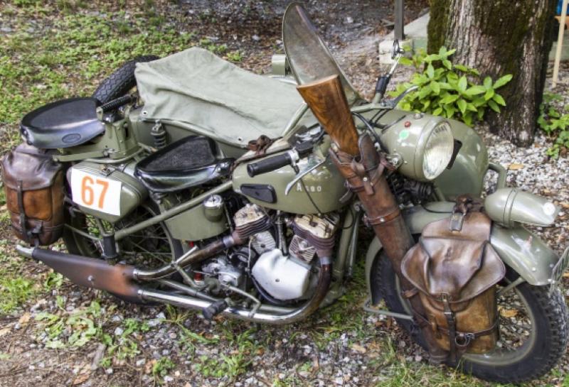 Мотоцикл Condor А-680 с коляской