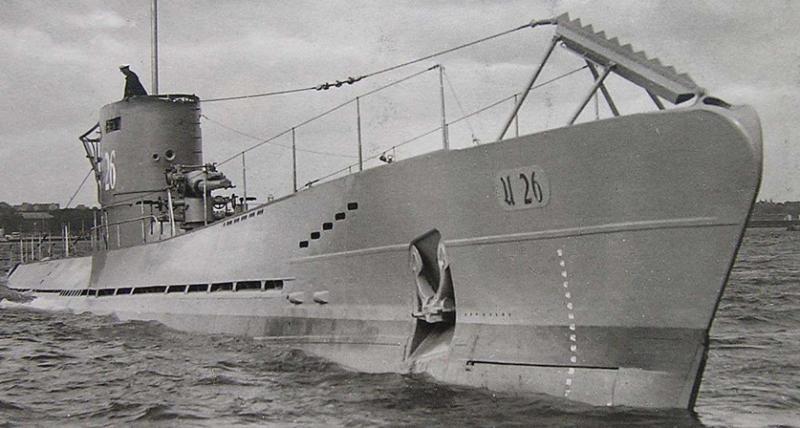 Подводная лодка «U-26»