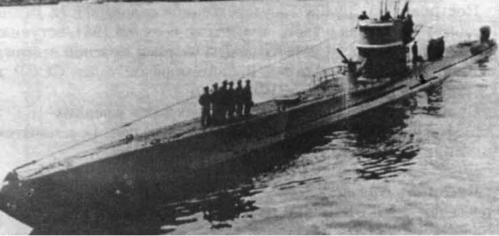 Подводная лодка «Marsuinul» (ТС-2)