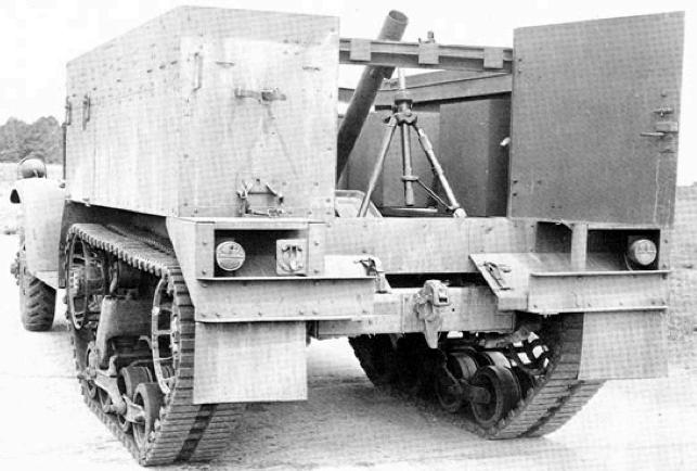 Самоходный миномет M-4 Mortar Motor Carriage