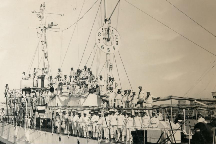 Канонерская лодка «Sublocotenent Ghiculescu» (Ангара)